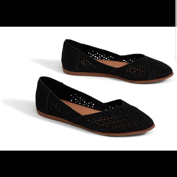 Toms Shoes | 370 Jutti Flats In Black